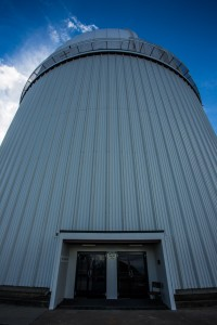 The main observatory dome at Siding Spring.