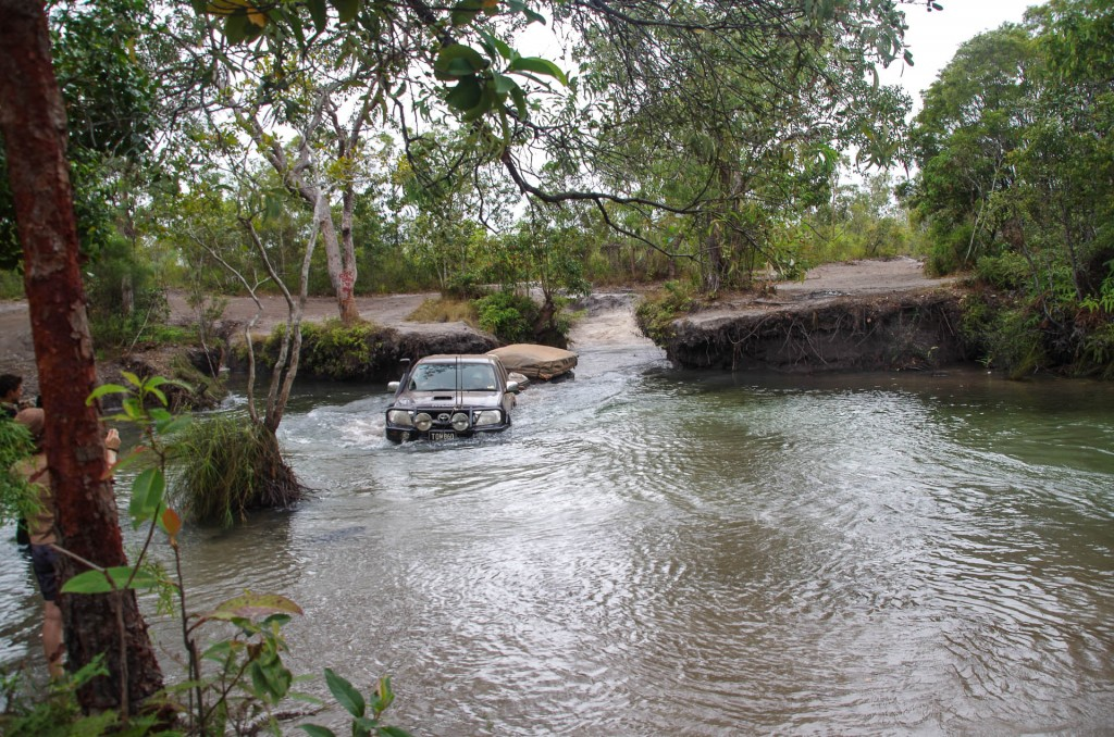 One of only three  4wd crossing Nowlan's Brook while we were there.